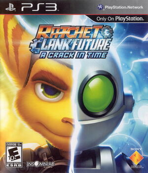 Cover for Ratchet & Clank Future: A Crack in Time.
