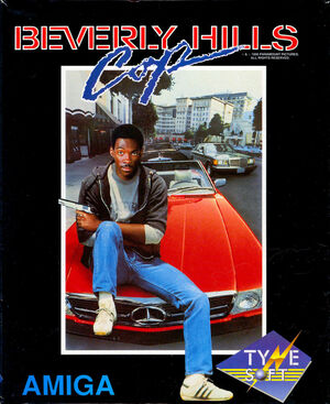 Cover for Beverly Hills Cop.