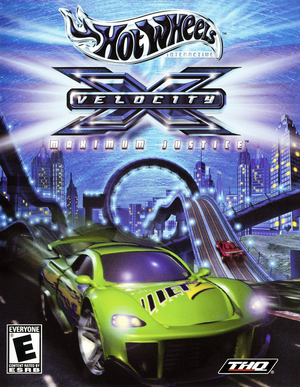 Cover for Hot Wheels Velocity X.