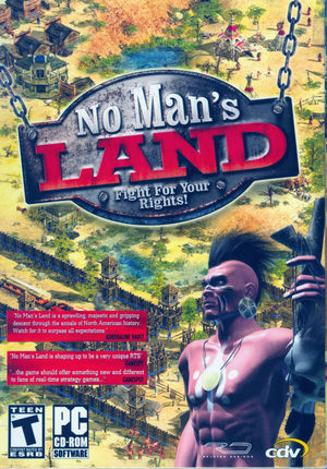 Cover for No Man's Land.