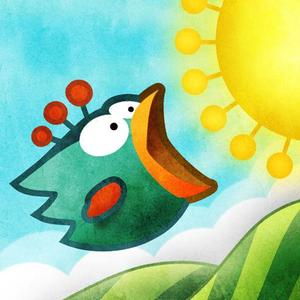 Cover for Tiny Wings.