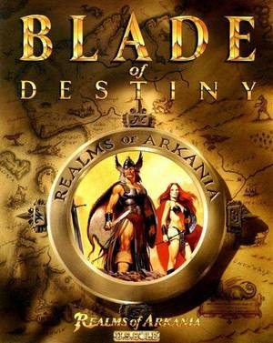 Cover for Realms of Arkania: Blade of Destiny.