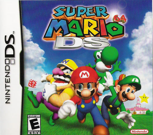 Cover for Super Mario 64 DS.