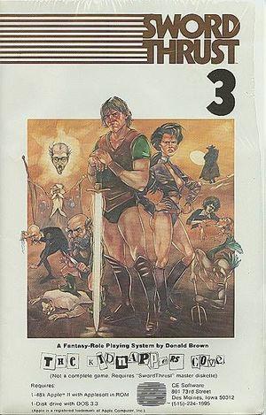 Cover for SwordThrust.