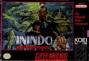 Cover for Inindo: Way of the Ninja.
