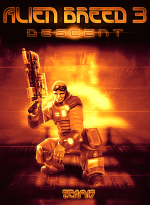 Cover for Alien Breed 3: Descent.