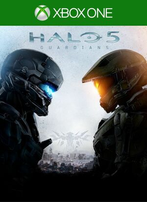 Cover for Halo 5: Guardians.