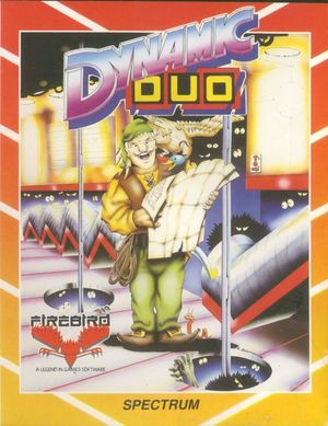 Cover for Dynamic Duo.