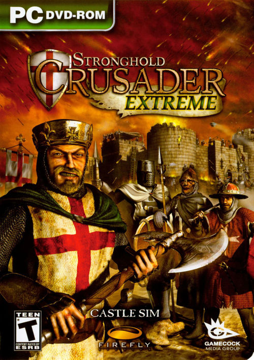 Cover for Stronghold: Crusader Extreme.