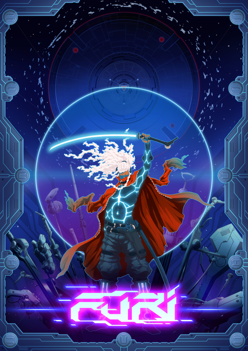 Cover for Furi.