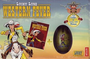 Cover for Lucky Luke: Western Fever.