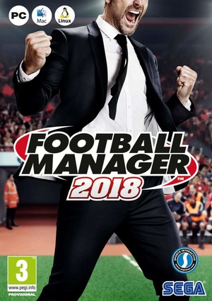 Cover for Football Manager 2018.