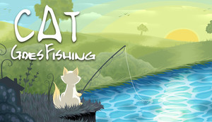 Cover for Cat Goes Fishing.