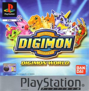 Cover for Digimon World.