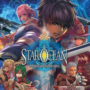Cover for Star Ocean: Integrity and Faithlessness.