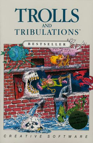 Cover for Trolls and Tribulations.
