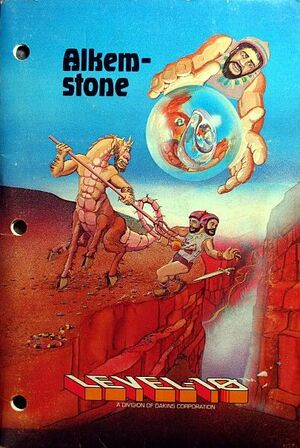 Cover for Alkemstone.