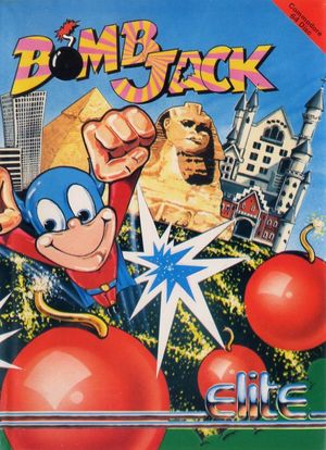 Cover for Bomb Jack.