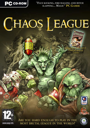 Cover for Chaos League.