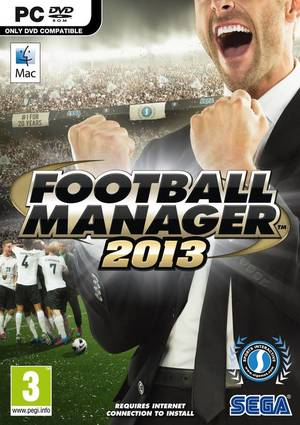Cover for Football Manager 2013.