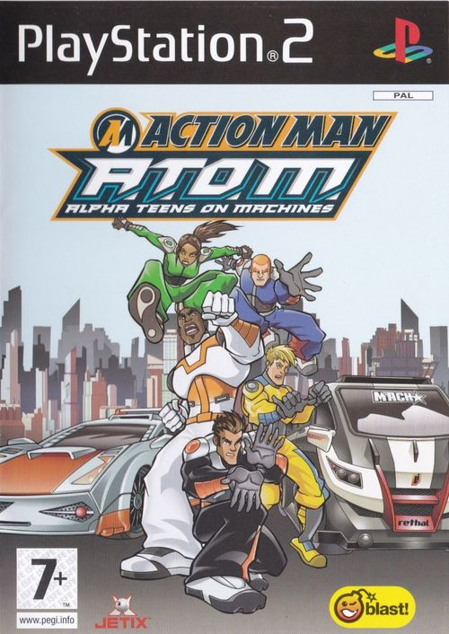 Cover for Action Man: A.T.O.M. - Alpha Teens on Machines.