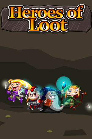 Cover for Heroes of Loot.