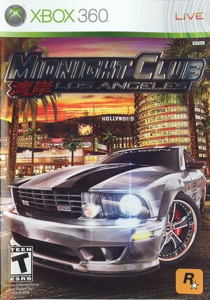 Cover for Midnight Club: Los Angeles.