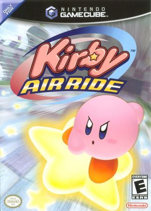 Cover for Kirby Air Ride.