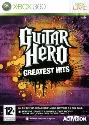 Cover for Guitar Hero Smash Hits.