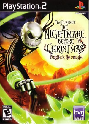 Cover for The Nightmare Before Christmas: Oogie's Revenge.