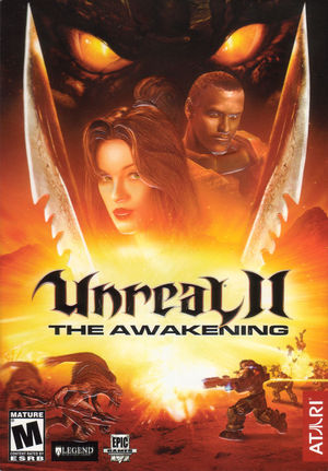 Cover for Unreal II: The Awakening.