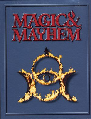 Cover for Magic and Mayhem.