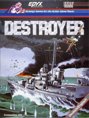 Cover for Destroyer.