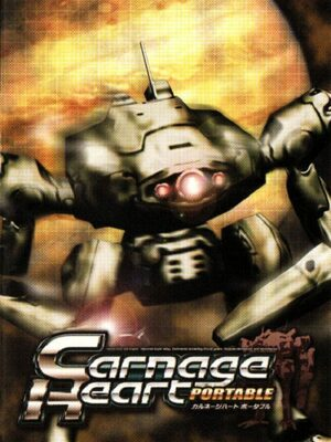 Cover for Carnage Heart PORTABLE.