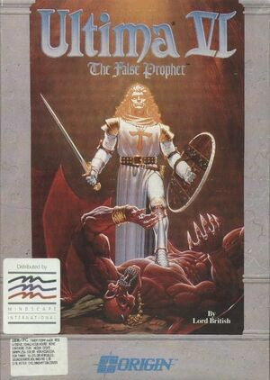 Cover for Ultima VI: The False Prophet.