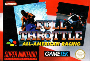 Cover for Full Throttle: All-American Racing.