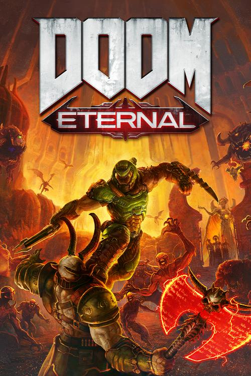 Cover for Doom Eternal.