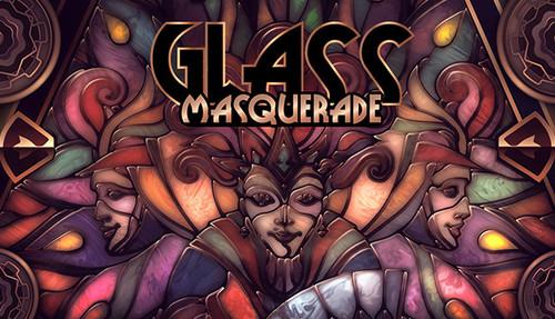 Cover for Glass Masquerade.