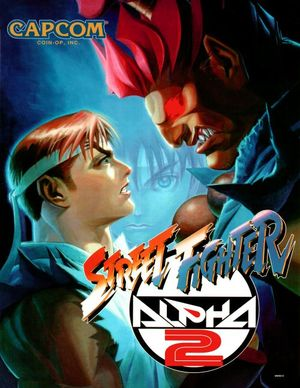 Cover for Street Fighter Alpha 2.