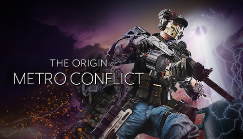 Cover for Metro Conflict: The Origin.