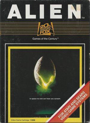 Cover for Alien.