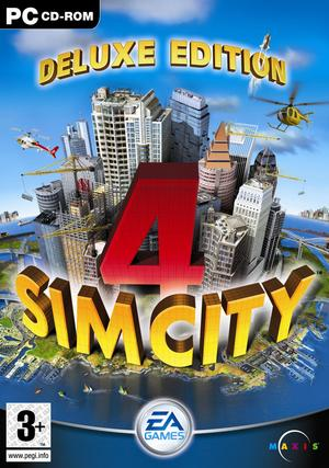 Cover for SimCity 4.