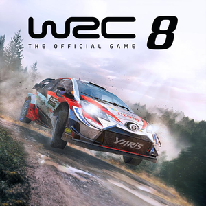 Cover for WRC 8 FIA World Rally Championship.