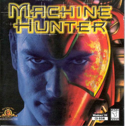 Cover for Machine Hunter.