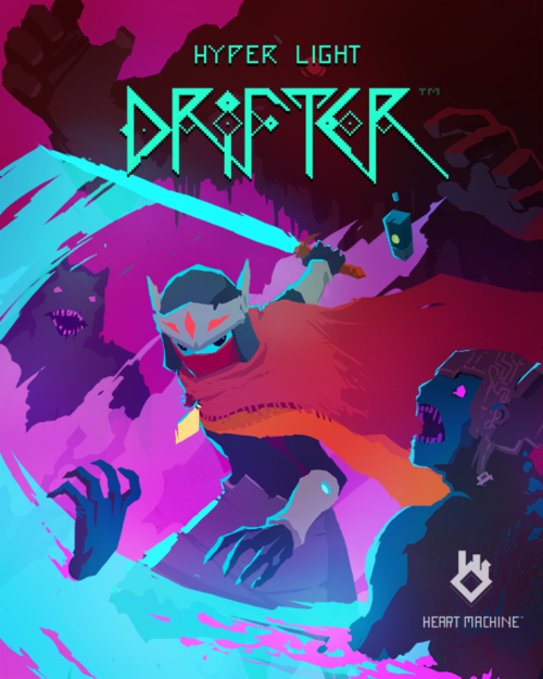 Cover for Hyper Light Drifter.
