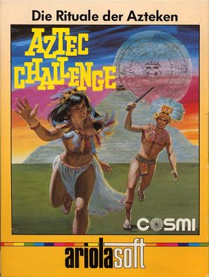 Cover for Aztec Challenge.