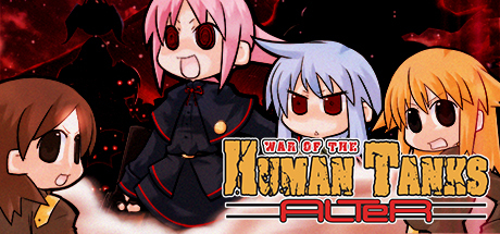Cover for War of the Human Tanks - ALTeR.