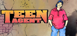 Cover for Teenagent.