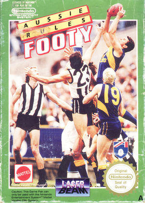 Cover for Aussie Rules Footy.