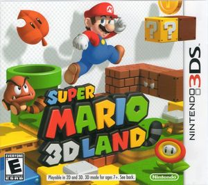 Cover for Super Mario 3D Land.